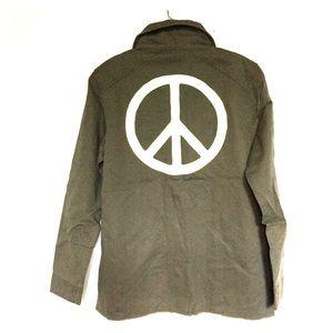 Junk Food Beatles Military Peace Shirt